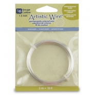 16 Gauge Artistic Wire argenté anti-ternissement