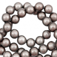Perles Miracle 3D 8mm taupe