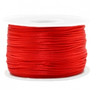 Fil macramé satin 1.5mm Rouge