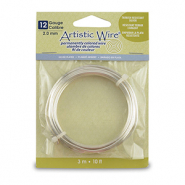 Artistic Wire 12 Gauge Argenté anti-ternissement