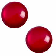 Cabochon classique 12mm Polaris Elements soft tone Rouge rubis