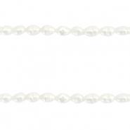 Bacatus 7-8 mm 1 Strang Perles d/'eau douce violet Nuggets perles fines #4288
