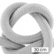 Cordelette style marin 10mm (3x30cm) Gris cool