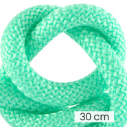 Cordelette style marin 10mm (3x30cm) Turquoise