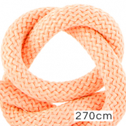Cordelette style marin 10mm (270cm) Rose clair saumon
