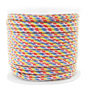 Cordelette 2mm Multicolore