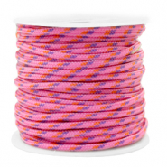 Cordelette 2mm Rose fuchsia