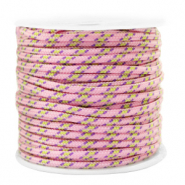 Cordelette 2mm Rose-jaune