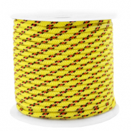 Cordelette 2mm Jaune-rouge