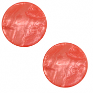 Cabochon plat 20mm Polaris Elements Lively Rouge ribes