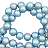 Perles Miracle 3D 8mm bleu glace