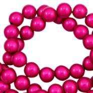 Perles Miracle 3D 12mm rose fuchsia